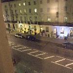 vista de la calle desde la ventana