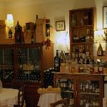 "The ""dining room liquor cabinet"" at Hotel Monterosso Alto"