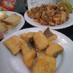 bacalao and chopitos