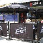 Outside Gusto Swindon