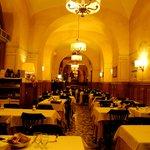 Interno del ristorante - interior of the restaurant