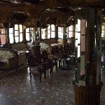 The bar / lounge area