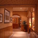 Vista desde el hall hasta el comedor