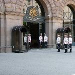 Changing Guards at President Palace