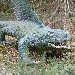 Dinosaur at the Prehistoric Park