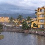 L'hôtel vue de la plage