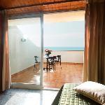 habitacion con terraza