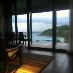 View from hilltop villa #505