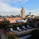 Roof terrace, Dar Vedra