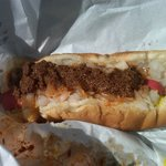 The Boxer - mustard, chili, & onions