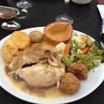 Sunday roast at the utopian lounge