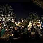 Punta del este night life terrace