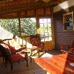 Eagle's Retreat screened in porch