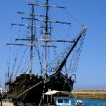 Boatel in Kyrenia Harbour.