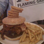 The Flaming Challenge - Looks better than it tastes!