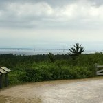 View from Fort Holmes atop Mackinac Island