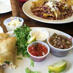 fish tacos & bayou nachos