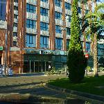 Area around hotel