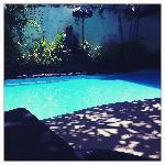 the pool - daytime