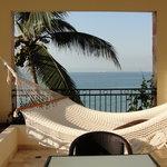 Hammock on Balcony - Jr. Suite
