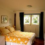 The Hayshed's queen bedroom