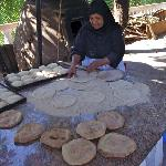 breadmaking in the gardens
