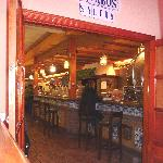 Bar area from restaurant
