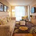 One-bedroom suite lounge
