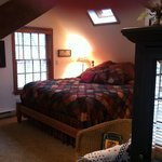 Bedroom in cottage
