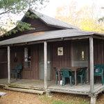 Cabin von außen