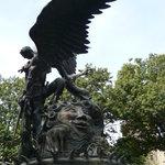 Erzengel Michael / Peace Brunnen NY