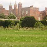 Melford Hall from across the road.
