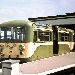 The old green & cream electric trains 1949-1978