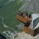 The Trollstigen viewpoint