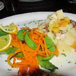 Pecan-Crusted Snapper