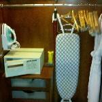 I appreciate the well stocked closet
