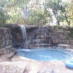 one of the hot tubs/spas, by the pool