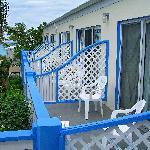 Balcony Row Lacks Any Privacy