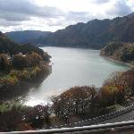 赤谷湖の眺望です。