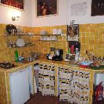 Kitchen cum lobby