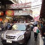 Busy street near to Citin