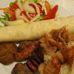 Combo with different Turkish specialities