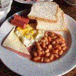 Breakfast served at Hornbill Restaurant