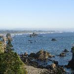 Trinidad coast area, Day trip north of Humboldt Gables
