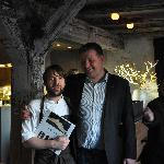 The one and only, Rene Redzepi and me