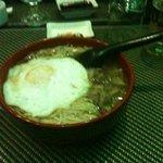 Zuppa di miso con manzo