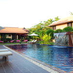 Inviting swimming pool