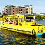 DUKW in the water
