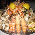 The 85 euro shellfish platter!!!