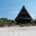 Lodge on the beach
